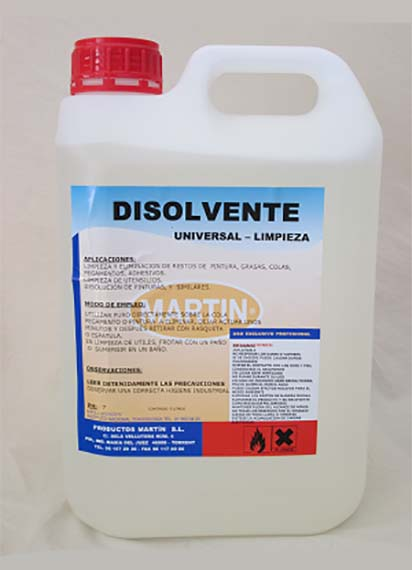 DISOLVENTE 5 LTS
