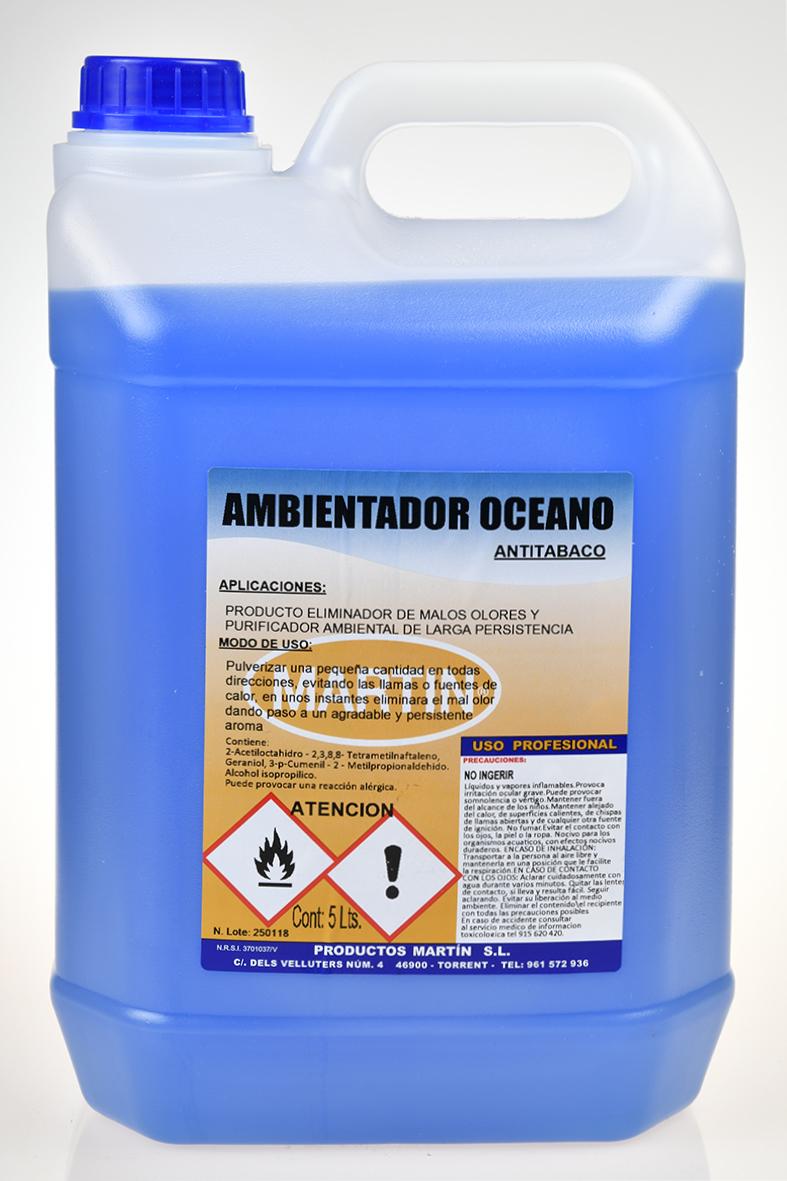 AMBIENTADOR ANTITABACO OCEAN0 5 LITROS
