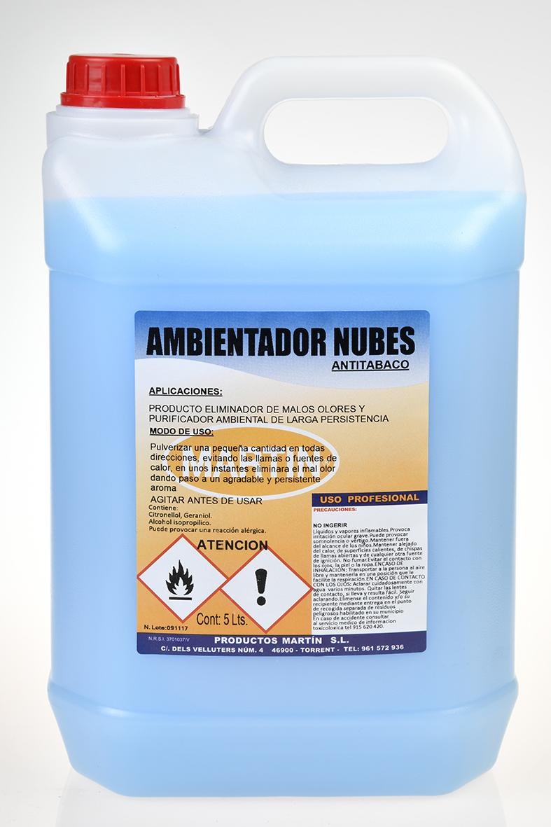 AMBIENTADOR NUBES 5 LITROS
