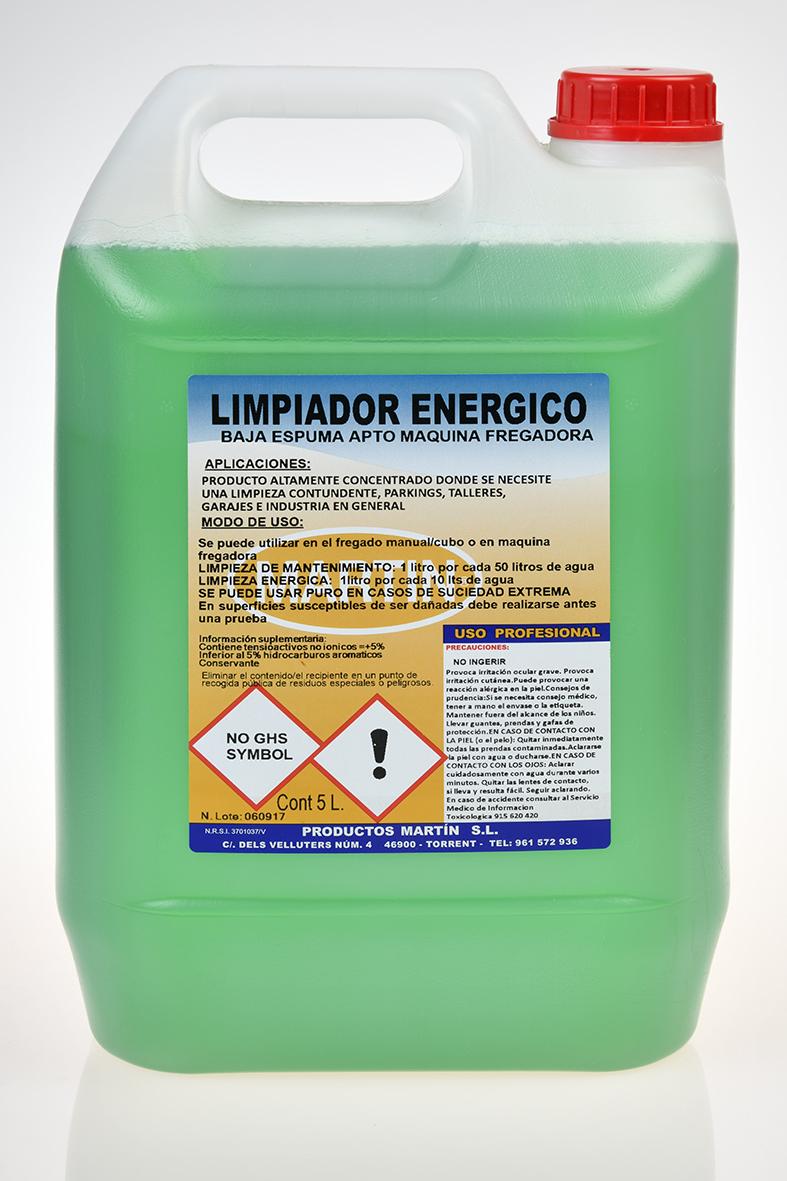 LIMPIADOR ENERGICO 5 LITROS