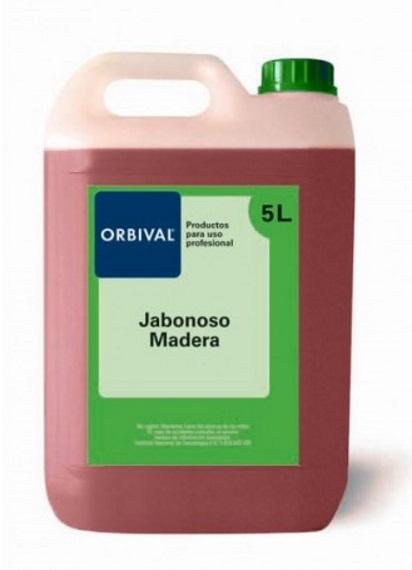 LIMPIADOR JABONOSO SUELOS MADERA ORBIVAL
