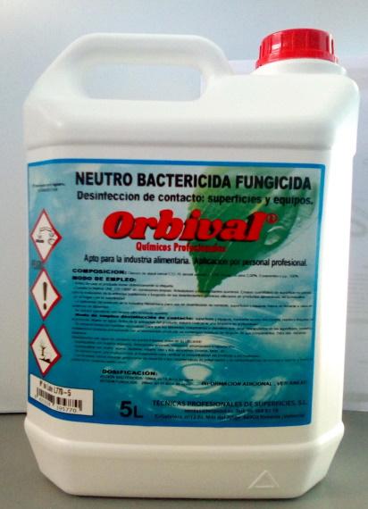 BACTERICIDA FUNGICIDA NEUTRO 5 LTS